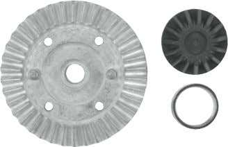Plastic Bushing 12x18x4mm 85600 Bevel Gear Set (13/10T) 88000 Diff Gear Set (15/38T) 85614 Spur Gear