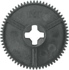 85600 Bevel Gear Set (13/10T) 88000 Diff Gear Set (15/38T) 85614 Spur Gear 65T (M0.6) 88001