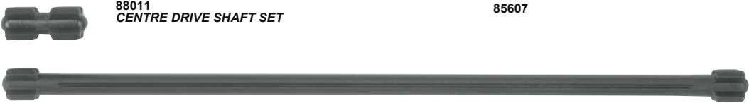 88011 85607 CENTRE DRIVE SHAFT SET