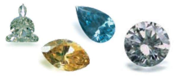 Diamond Mineral class Crystal system Chemical composition Variety ® ® ® ® Trade names ® Color
