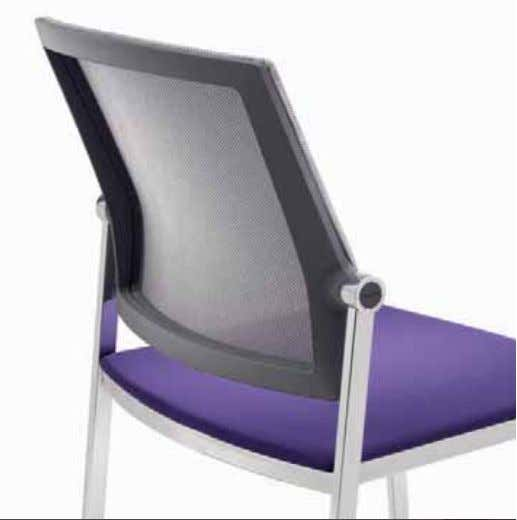 or without armrests with the underside of the seat pan designed to protect the fabric and