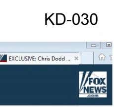 KD-030 I g II B m EXCLUSIVE: Chris Dodd, X