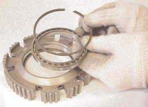 drive the bearing out of the housing using a suitable drift. 20. If necessary remove the