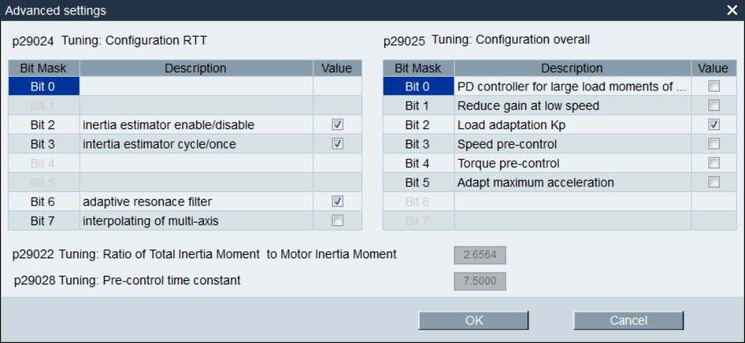 Set the parameters in the window below: 3.3 Tuning the Drive Figure 12 - Set Tuning