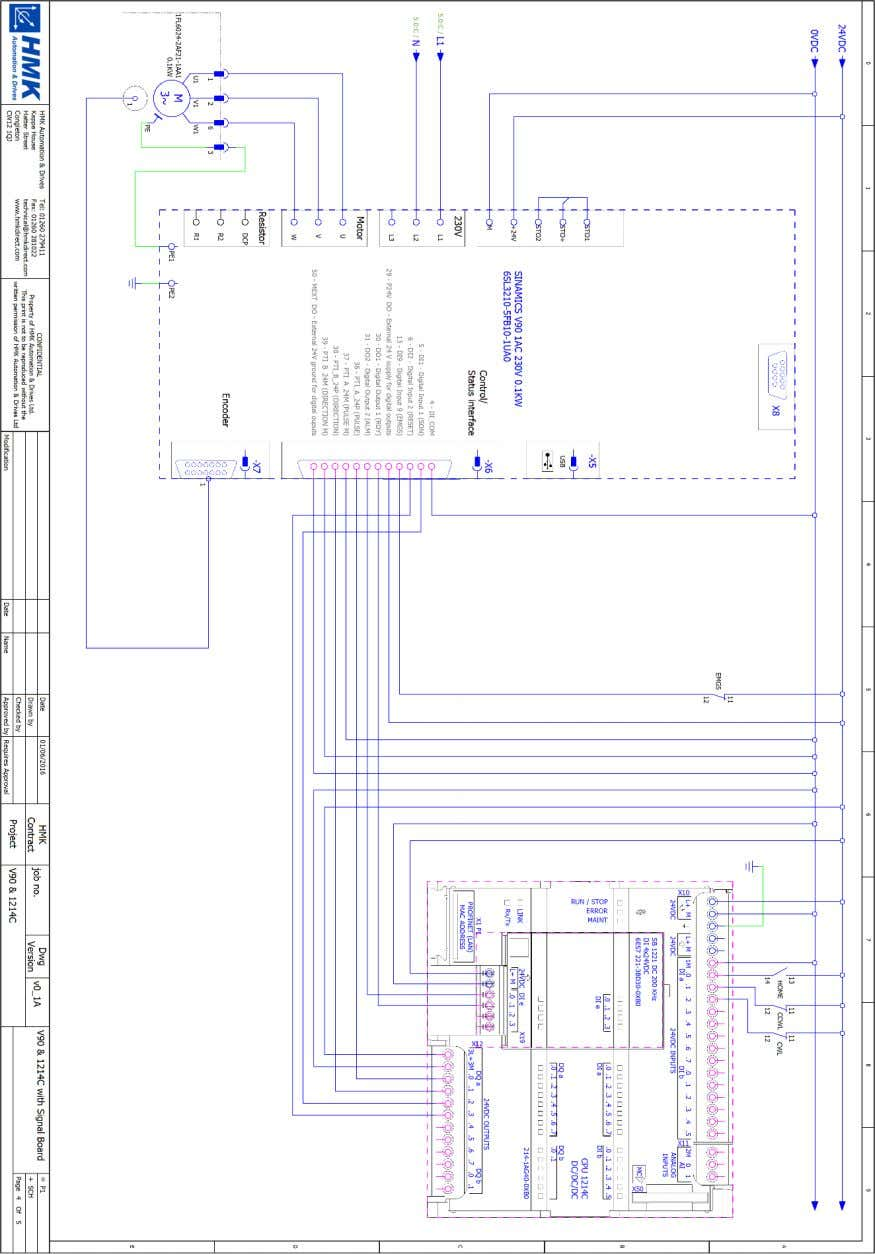 Signal Board Application Wiring – with Signal Board A 0 Figure 32 – Application Wiring Diagram