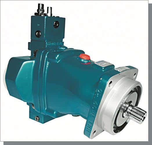 H1V POMPE A PISTONI ASSIALI A CILINDRATA VARIABILE PER CIRCUITO APERTO VARIABLE DISPLACEMENT AXIAL-PISTON PUMPS FOR