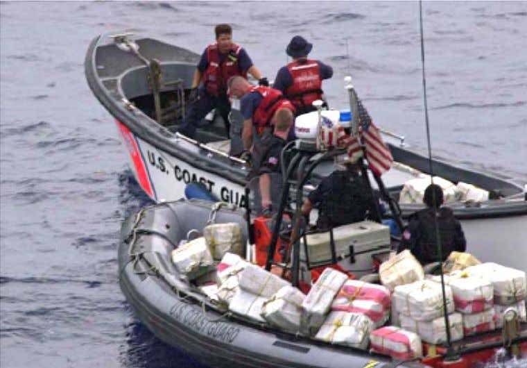 Chapter I Crews transfer two tons of cocaine from a larger drug-smuggling vessel. 1. General. Precursor