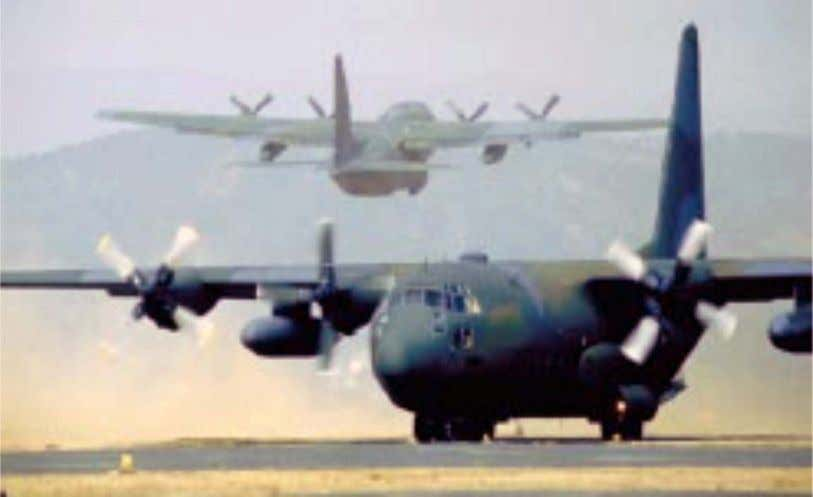 Planning Counterdrug Operations Versatile C-130 aircraft transport logistics and people in support of counterdrug and