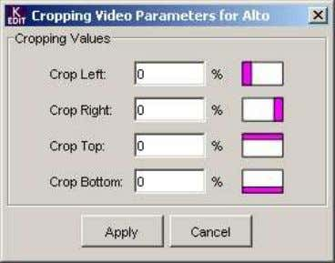 Markers and Scan Tab Aspect Ratio Marker: Display Markers: select the checkbox to display the aspect