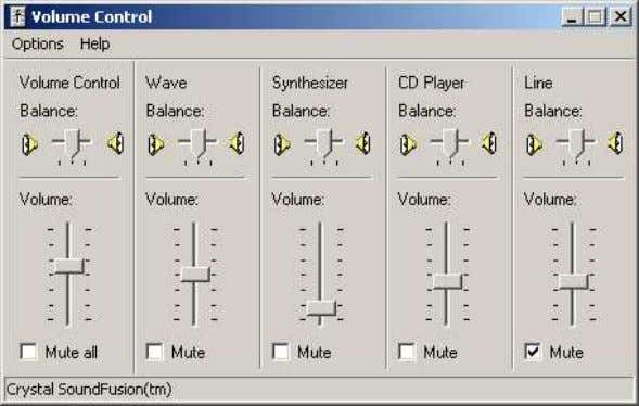 Switch between Mute the audio monitoring and revert to Normal. Switch between Attenuate the volume by