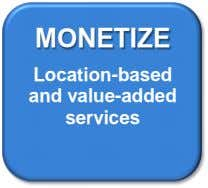 MONETIZE Location-based and value-added services