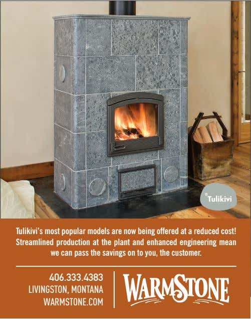 Tulikivi's most popular models are now being offered at a reduced cost! Streamlined production at