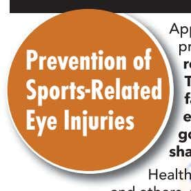 Prevention of Spor ts-Related Eye Injuries