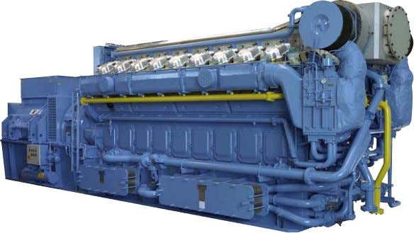 Fact sheet Bergen KV-G4.2 The latest lean-burn K-gas engine Higher efficiency and reliable operation. The KV-G4.2