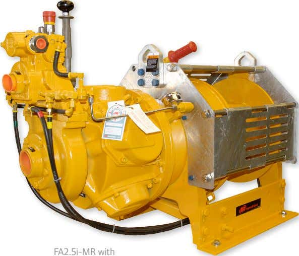 issued by the classification societies of ABS or DNV. optional -CE Package What makes a winch