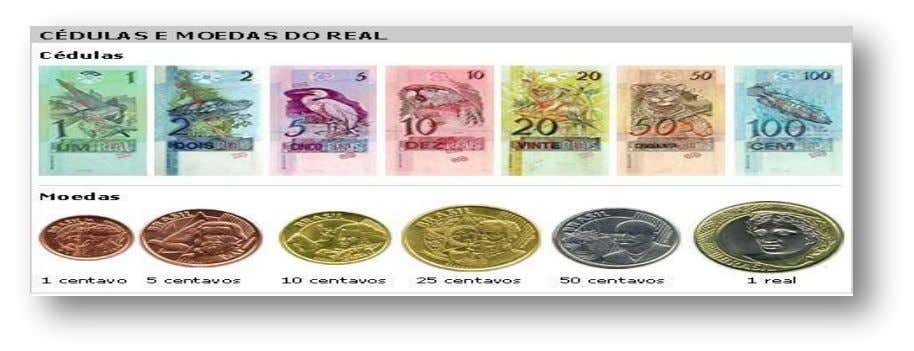 SEP MONEDA DGEST SEST El real es la moneda de curso legal en Brasil. Su símbolo