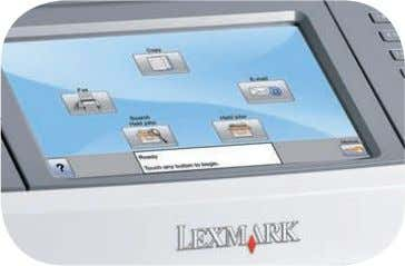 If you've got all these, then you've got a Lexmark! Now showing on the big screen