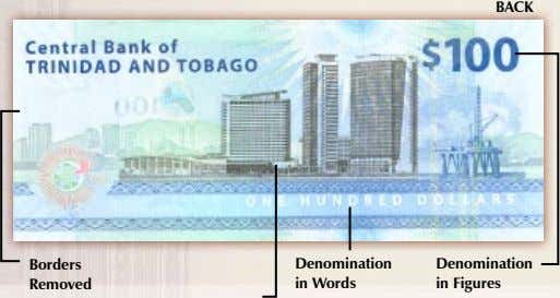 BACK Borders Denomination Denomination Removed in Words in Figures