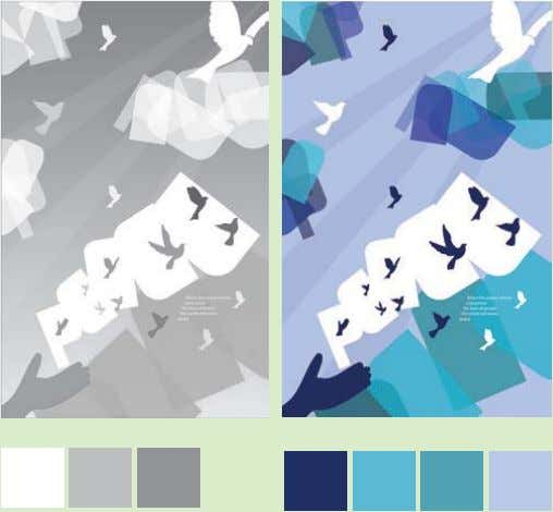ideal for designers who excel at working within set limits. These color studies show what a