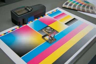 color profiles and systems in their swatch libraries. YELLOW CYAN MAGENTA BLACK This poster highlights the