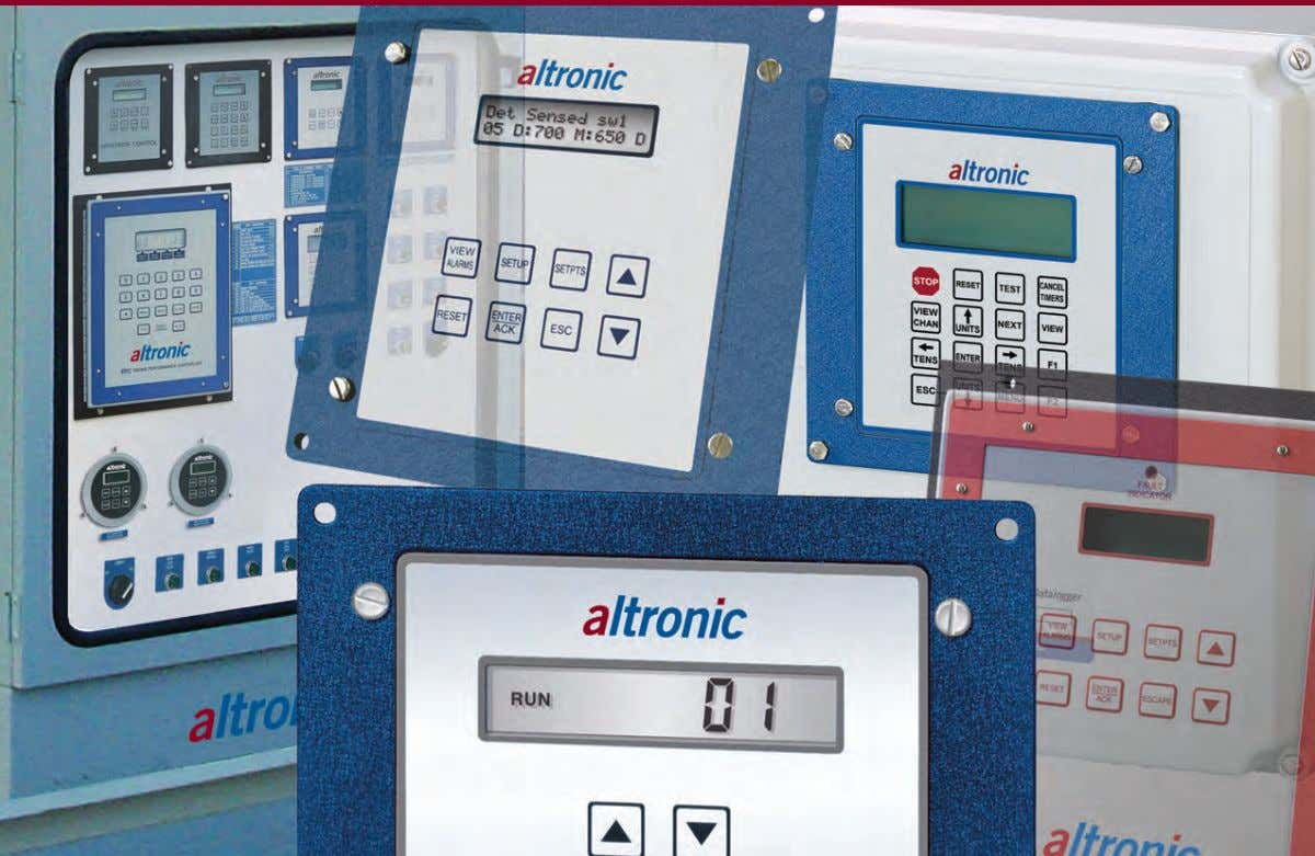 Instrument and Compressor Control Systems