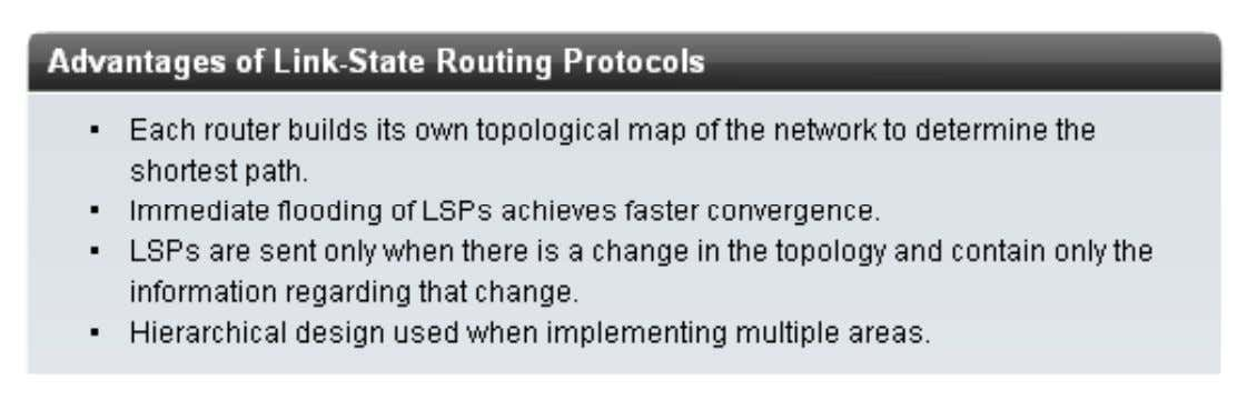 Advantages of a Link-State Routing Protocol H ọ c vi ệ n m ạ ng Bach