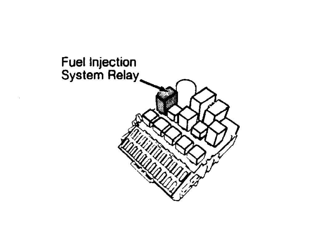 Fig. 1: Locating Fuel System Relay (940) Courtesy of Volvo Cars of North America. Fig. 2: