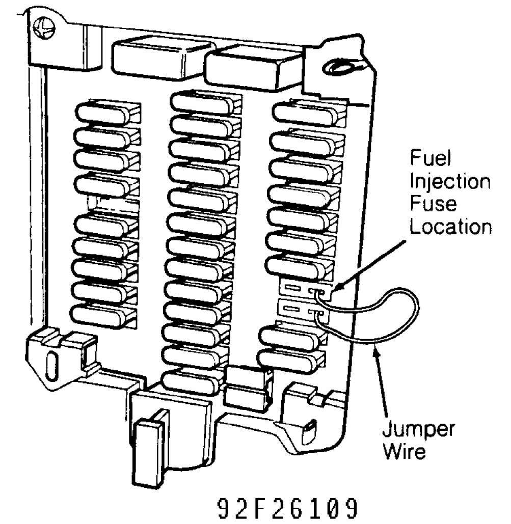 Fig. 5: Identifying Fuel Pump Fuses (960) Courtesy of Volvo Cars of North America. Fuel Pump
