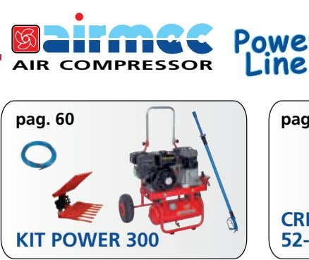 AIR COMPRESSOR pag. 60 KIT POWER 300