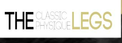 THE CLASSIC PHYSIQUE – TICC AND JOOCY LEGS 5