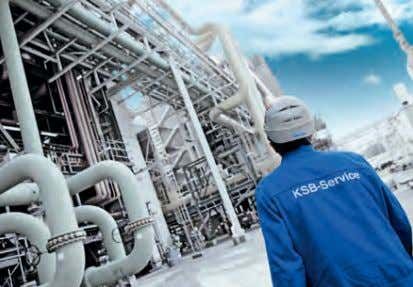 training sessions. They ensure that operators can use KSB pumps and valves efficiently and profitably, day