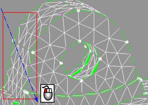 SOLID MESHING FOR STRESS ANALYSIS – Tetra & Hexa mesh Moving upwards to the next region,