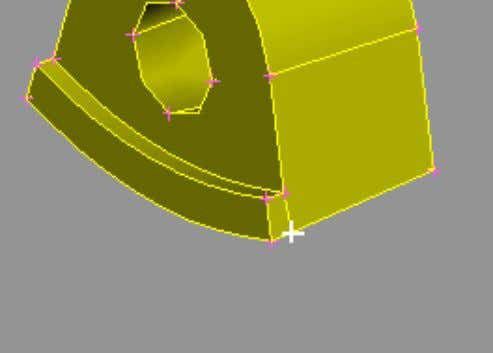 MESHING FOR STRESS ANALYSIS – Tetra & Hexa mesh 1 2 The Hot Point is projected