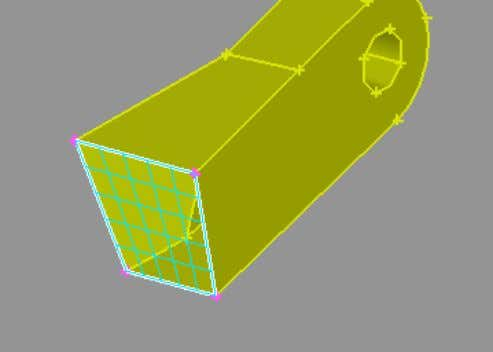 3.10. Create the interior Faces of the sub-volumes 2 1 3 4 To mesh each sub-volume