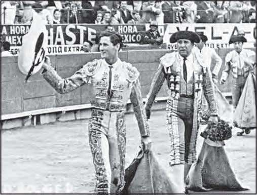 when he was on the program with Matadora Raquel Martinez. After an outstanding corrida at Plaza