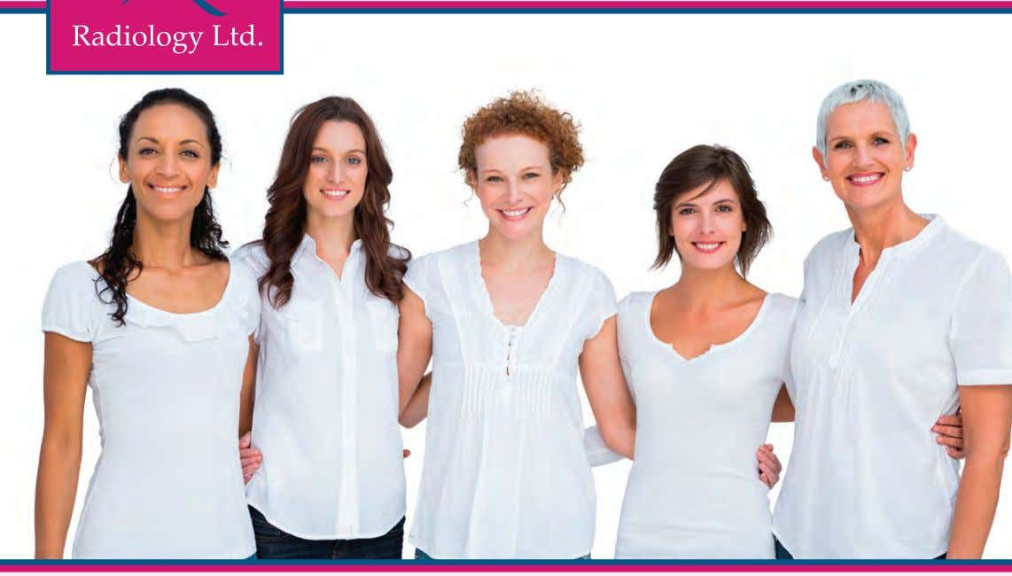 Radiology Ltd. proudly offers 3D Mammography. The physicians of Radiology Ltd. believe in personalized and