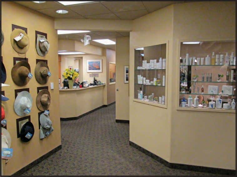 """ T ucson is definitely a place where there is a lot of Pima Dermatology's lobby"