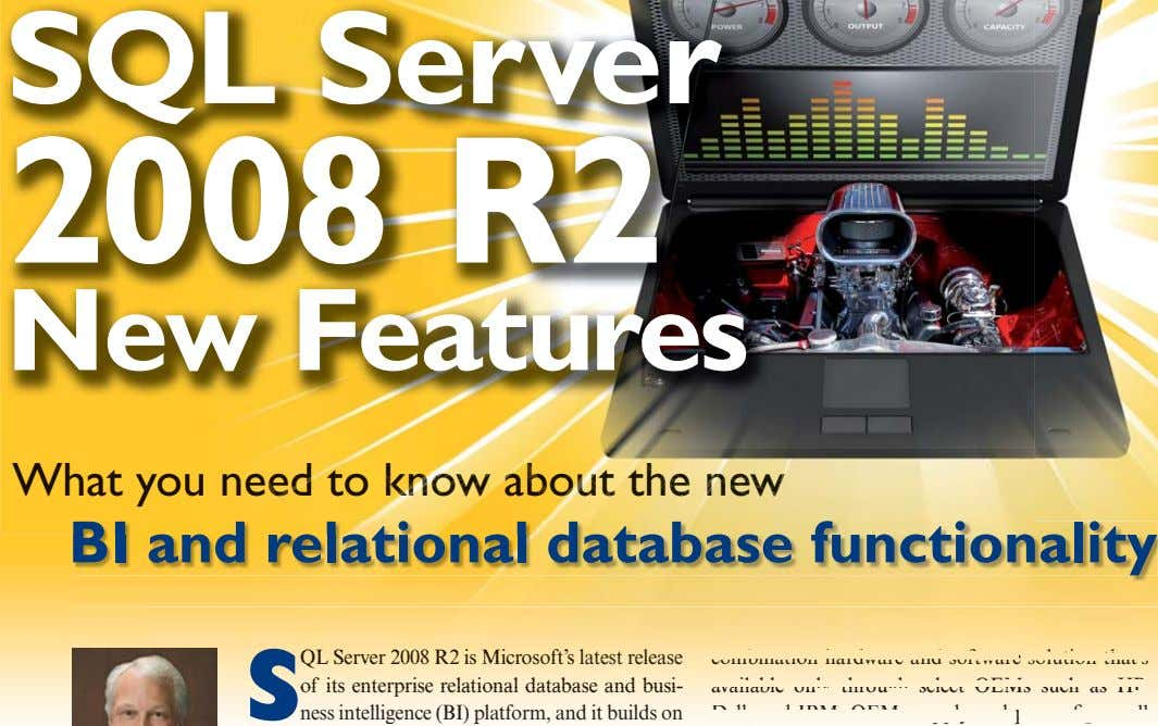 SQL Server 2008 R2 New Features What you neeed to kknnnnnnnnnnnnnnnnnnoooowwww abbbbouuuuuuuuuuuuuutt thhhheeee
