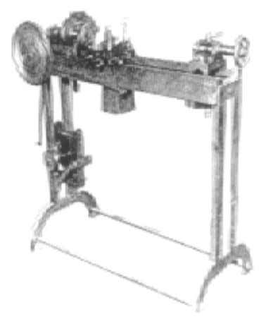 lathe was designed and built by Christopher Miner Spencer. Fig 1.2 An early Lathe, 1825 Fig.