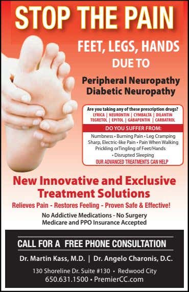 STOP THE PAIN FEET, LEGS, HANDS DUE TO Peripheral Neuropathy Diabetic Neuropathy Are you taking