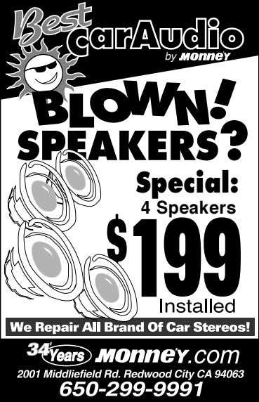by Special: 4 Speakers