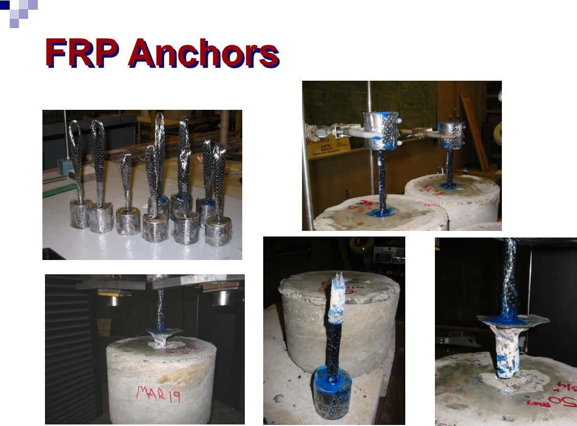 FRP Anchors