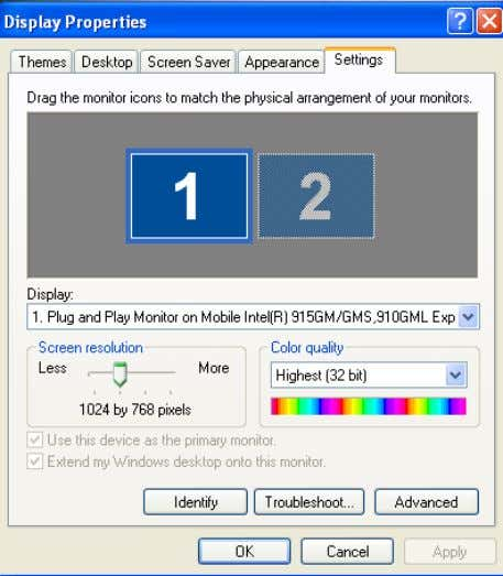 allowing consistent operator views over multiple monitors. Licensing This is a standard feature, included as tangible