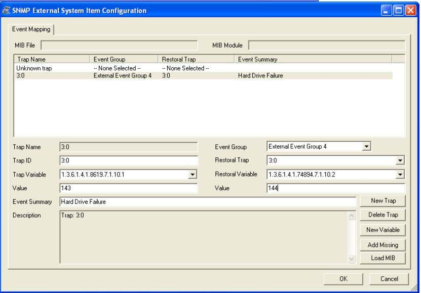 the FT Controller for alarms management and audit purposes. SNMP Supported Version SNMP Version 1. 01/04/08