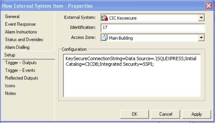 errors encountered for alarms management and audit purposes. CIC KeySecure Supported Version KeySecure Software: V1.1.2.8