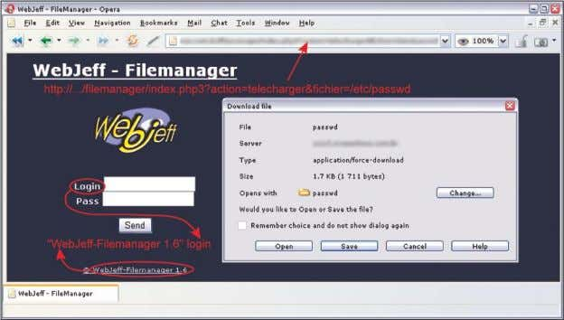 Figure 3. A vulnerable version of WebJeff Filemanager Figure 4. Advanced Guestbook login page Basics