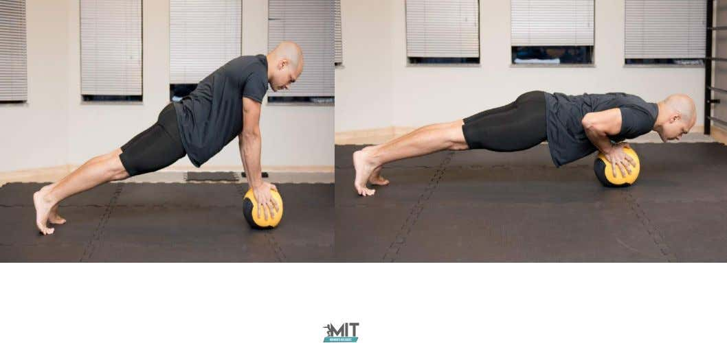 2- Flexão na Medicine Ball