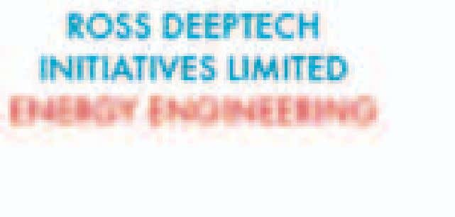Ross Deeptech is a privately owned, independent Medium to Heavy Engineering company with extensive experience,