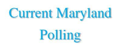 Current Maryland Polling