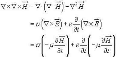 free( ) medium (eq3) In the same manner for equation eqn 1 Since from eqn 4,